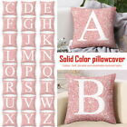 A-Z Letters Cushion Throw Pillow Case Cover Home Sofa Bed Decor 45x45cm GIFT