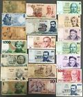Israel Lot of 20 Different Banknotes Pound Lira & Sheqel 1958-1986 Low Grade (3)