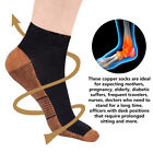 Copper Compression Socks Brace Feet Ankle Support Sleeve Plantar Fasciitis Sport