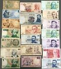 Israel Lot of 20 Different Banknotes Pound Lira & Sheqel 1958-1986 Low Grade (4)