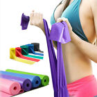Tool Women Fitness Accessories Exercise Gym Rope Yoga Stretch Strap Rubber Belt image