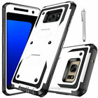 For Samsung Galaxy Note 5 Case Shockproof Hybrid Protective Rugged Rubber Cover