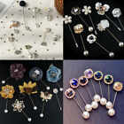 Brooch Pin Pearl Pins Simple Style For Coat Cardigan Collar Button DIY 02