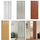 Folding Door PVC Internal Doors Sliding Plastic Panel Divider Indoor Utility, used for sale  Coalville