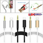 Lightning To 3.5mm Male Jack Car Aux Audio Music Adapter Cable Iphone 7 8 X Xs