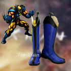 X-Men Wolverine Logan James Howlett Boots Shoes Marvel Comics Cosplay Costume