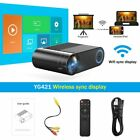 LED Projector 720P 1280P 720P Wireless WiFi Video Beamer 3D VGA HDMI Proyector