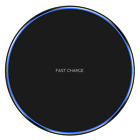 Metal Qi Wireless Charger 10W Fast Charging Dock Mat Pad For iPhone 11 Pro Max