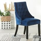 Windsor Velvet Studded Door Knocker Dining Kitchen Accent Chairs Home Furniture