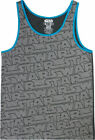 Star Wars Logo Pattern Men's Gray Tank Top $12.99 USD on eBay