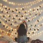 40 Photos 6m Window Hanging Peg Clips Led String Lights Home Party Fairy Decor