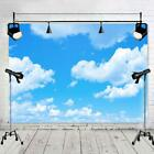 Sunshine Blue Sky White Clouds Backdrops Photo Booth Studio Props Background