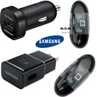 White&Black Samsung Galaxy S9 S8plus Note 8 Fast OEM Wall Charger+Type C -CABLE