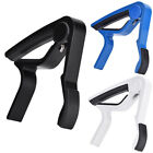 Portable Quick Change Tune Clamp Handheld Tuner Guitar Capo for Folk Guitar Clip