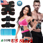 EMS Muscle Hip Trainer Abdominal Toning ABS Stimulation Sports Fitness Belt US image
