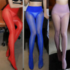 Women Sexy 360°Seamless Pantyhose High 8D Oil Glossy Shiny Tights Body Stocki RS