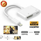 Lot Lightning To HDMI Cable Digital AV TV Adapter For iPhone6 8 7 X MAX iPad Pro