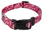 Country Brook Design® Pink Bone Camo Deluxe Dog Collar