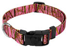 Country Brook Design® Deluxe Pink Waterfowl Camo Dog Collar