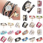 1pc Elegant Rhinestone Bracelet Wristwatch Women Shell Pearl Quartz Watches Gift