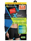 "Hanes® Men's X-TEMP® Performance Cool Boxer Briefs 4-Pack  ""Tagless""    MWBBA4"