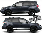 Forest tree side decal graphics sticker outdoors subaru impreza forester FS21