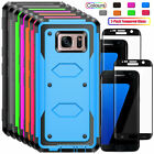 For Samsung Galaxy S7 / S7 Edge Case With Screen Protector 360  Full Phone Cover
