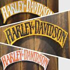 Patch Iron-On Harley-Davidson Logo Motorcycle Logo Letters Applique $5.0 USD on eBay