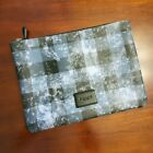 New COACH Large Pouch Clutch Travel IPad Pro Tablet Sleeve up to 11""