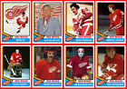 1974-75 DETROIT RED WINGS High Grade Hockey Card Style PHOTO CARDS  U-Pick THICK $2.35 CAD on eBay