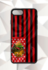 CHICAGO BLACKHAWKS  FLAG IPHONE 5 6 7 8 X PLUS (US SELLER) CASE FREE SHIPPING $15.95 USD on eBay
