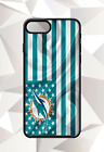 MIAMI DOLPHINS FLAG IPHONE 5 6 7 8 X PLUS (US SELLER) CASE FREE SHIPPING 1 $14.95 USD on eBay