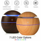 Kyпить  Aroma Essential Oil Diffuser Wood Grain Ultrasonic Aromatherapy Humidifier на еВаy.соm