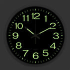 12Inch Silent Non-Ticking Quartz Wall Clock Large Display Battery Night Light US