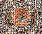Cleveland Browns Player Mosaic Print Art Designed Using The Greatest Players $35.0 USD on eBay