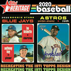 2020 Topps Heritage Baseball (251-500) PICK YOUR CARD COMPLETE YOUR SET PYCBaseball Cards - 213