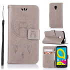 Owl Wallet Leather Flip Stand Case Cover For Alcatel Pixi 4 Idol 4 A5 Led U5 4G