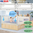 150/180/200cm Folding Safety Bed Rail Guard Protection Baby Sleep For Toddler