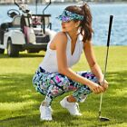 """Lilly Pulitzer NWT Lux 28"""" Fairway Twill Corso Golf Pants Sway This Way $138"""