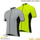 3D Mens Cycling Jersey Half Sleeve Top Cycle Racing Team Quality Biking Top