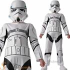 Boys Storm Trooper Star Wars Fancy Dress Costume Kids Childrens Outfit Ages 3-8 £17.48 GBP on eBay