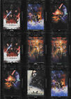 2018 Star Wars Galactic Files Black Base Patch Movie Poster Cards Topps $4.5 USD on eBay