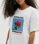 Hopeless Romantic T-shirt Tyler Sunflower Rose Retro Tee Cow Bee Summer Cute Top