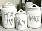 Rae Dunn Style Decal For Pantry, Canisters, Tins, Mugs And More - Farm House