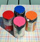 4PCS Soda Fizzy Pop Beer Cola Drink Can Lid Covers Toppers Beverage for Cans