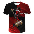 Birds of Prey Harley Quinn Women Men T-Shirt 3D Print Short Sleeve Tee Tops image