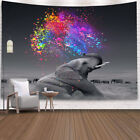 Tapestry Mysterious Elephant Hippie Tapestry Art Wall Hanging Colorful Home Deco