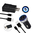 Safe Charging For Moto E5+ G6 G7 Z Z2 Force M Z3 X4 Car Wall Adapter Type C Cord