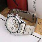 Men Mechanical Automatic Sports Stainless Steel Band Military Casual Watch BP image