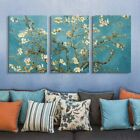 wall26 3 Panel Canvas Wall Art - Almond Blossom by Vincent Van Gogh
